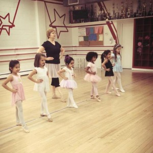 PRE BALLET AND TAP DANCE